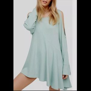 Free People | Clear Skies Cold-Shoulder Tunic Med